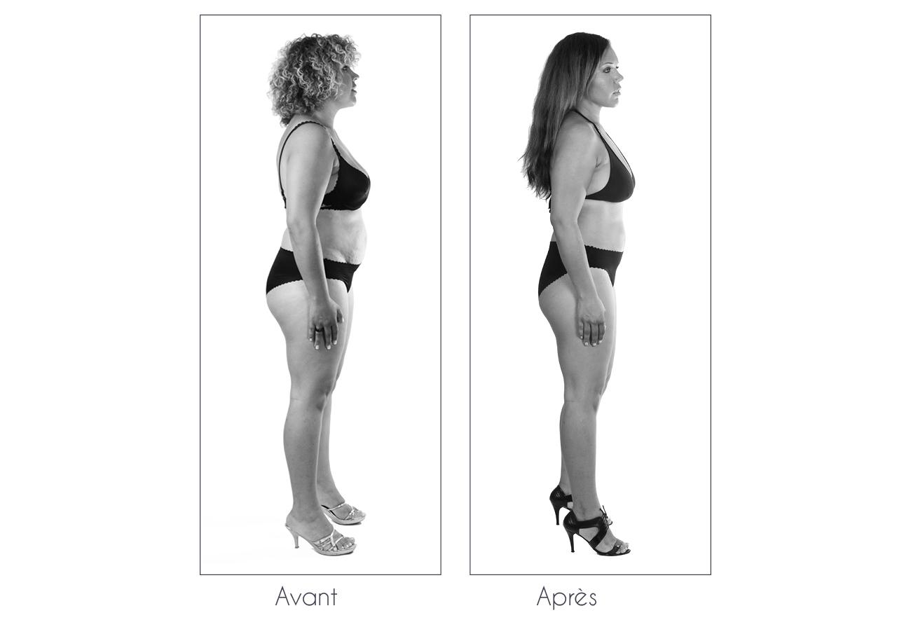 Résultats Anne Cali perte de poids de 17kg profil