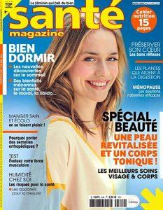 Parution presse Santé Magasin - Avril 2021